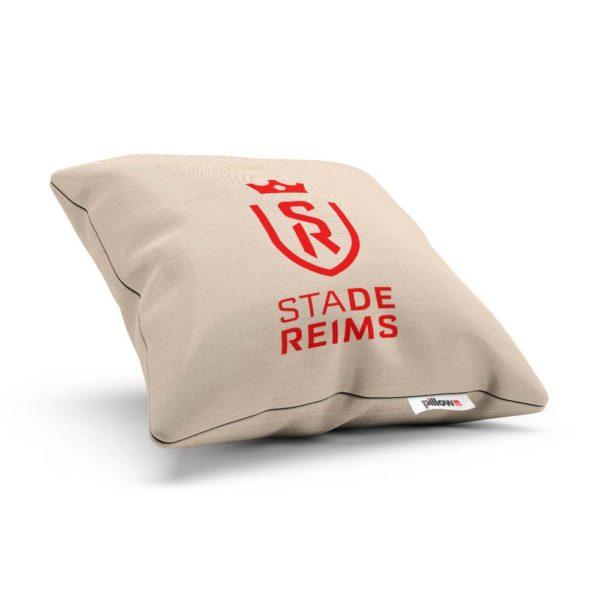 Vankúšik s logom futbalového tímu Stade Reims
