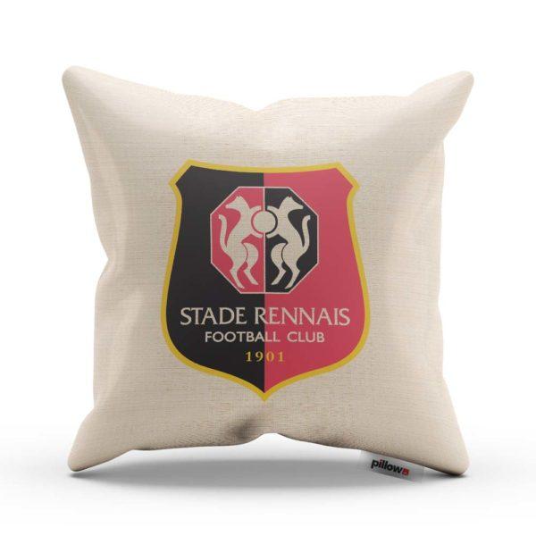 Vankúš s logom futbalového klubu Stade Rennais FC