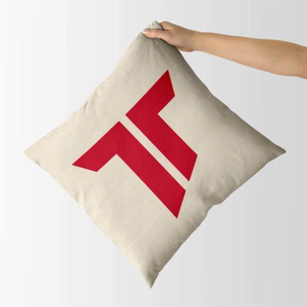 Dekoračný vankúš s logom AS Trenčín