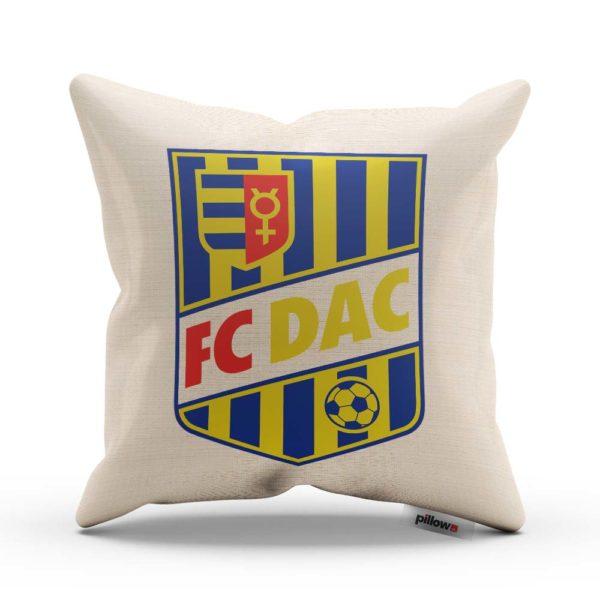 Vankúšik s logom futbalového klubu FC DAC 1904 Dunajská Streda