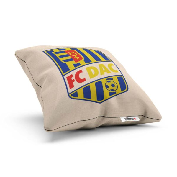 Vankúš s logom futbalového klubu FC DAC 1904 Dunajská Streda