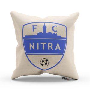 Vankúšik s logom futbalového klubu FC Nitra