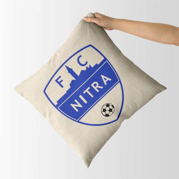 Dekoračný vankúš s logom FC Nitra