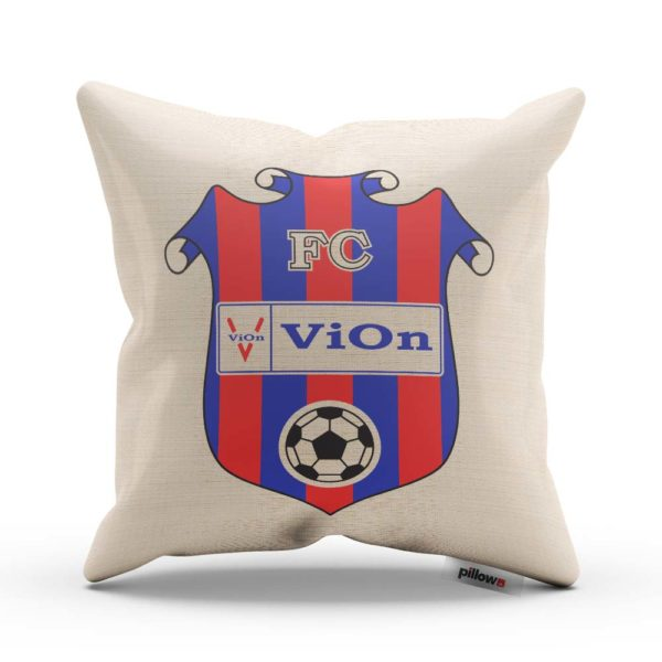 Vankúšik s logom futbalového klubu FC ViOn Zlaté Moravce - Vráble
