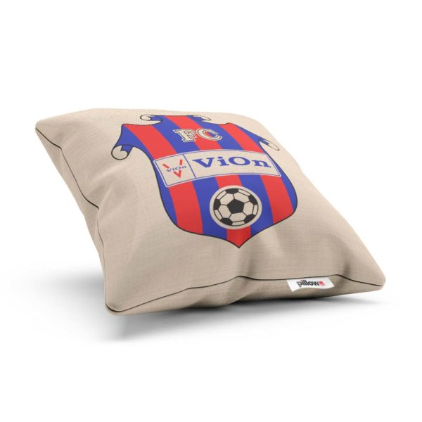 Vankúš s logom futbalového klubu FC ViOn Zlaté Moravce - Vráble
