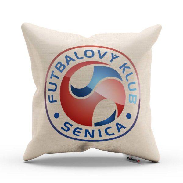 Vankúšik s logom futbalového klubu FK Senica