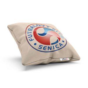 Vankúš s logom futbalového klubu FK Senica