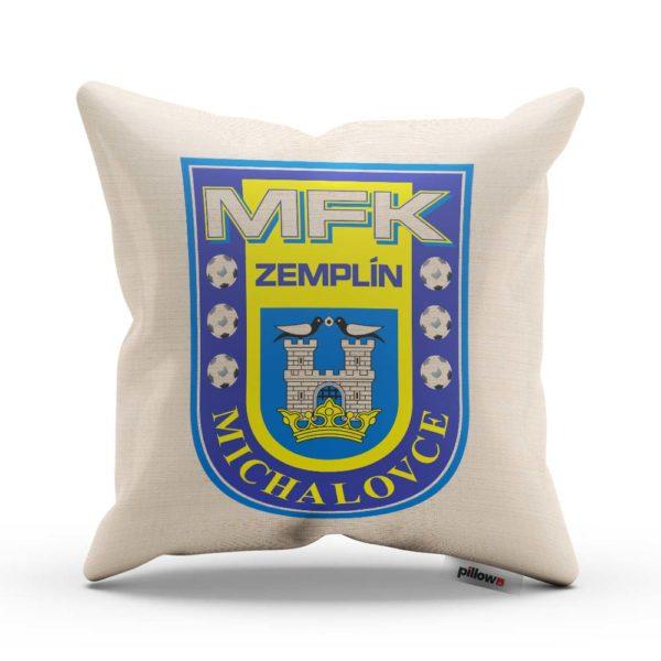 Vankúšik s logom futbalového klubu MFK Zemplín Michalovce