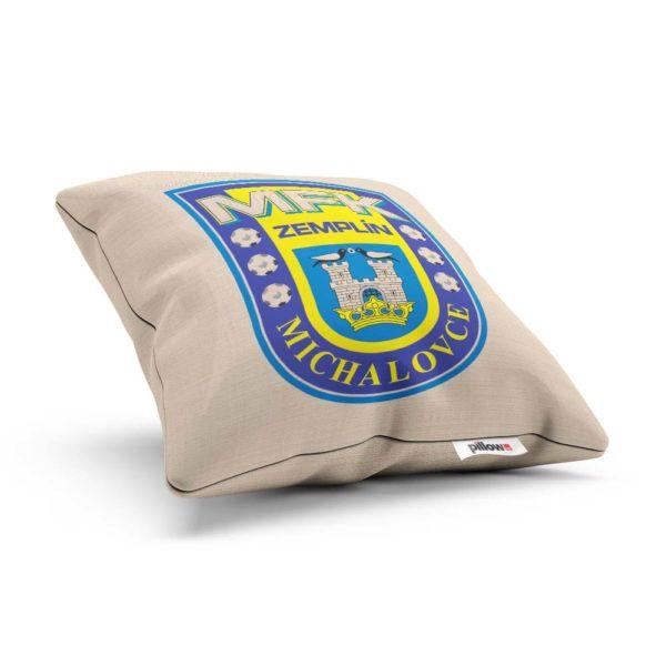 Vankúš s logom futbalového klubu MFK Zemplín Michalovce