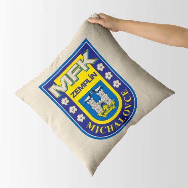 Dekoračný vankúš s logom MFK Zemplín Michalovce