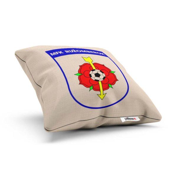 Vankúš s logom futbalového klubu MFK Ružomberok
