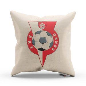 Vankúšik s logom futbalového klubu ŠKF Sereď