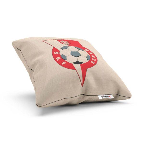 Vankúš s logom futbalového klubu ŠKF Sereď