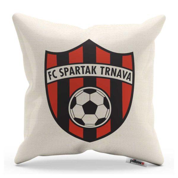 Vankúšik s logom futbalového klubu FC Spartak Trnava