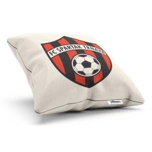 Vankúš s logom futbalového klubu FC Spartak Trnava