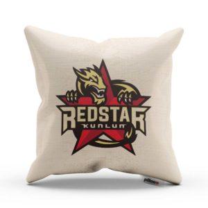 Vankúš hokejového klubu HC Červená hviezda Kunlun z KHL