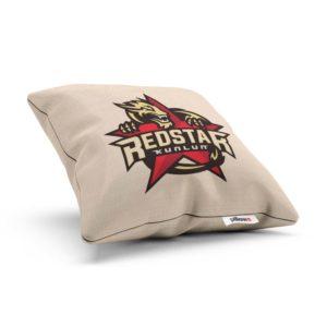 Vankúšik hokejového klubu HC Červená hviezda Kunlun z KHL