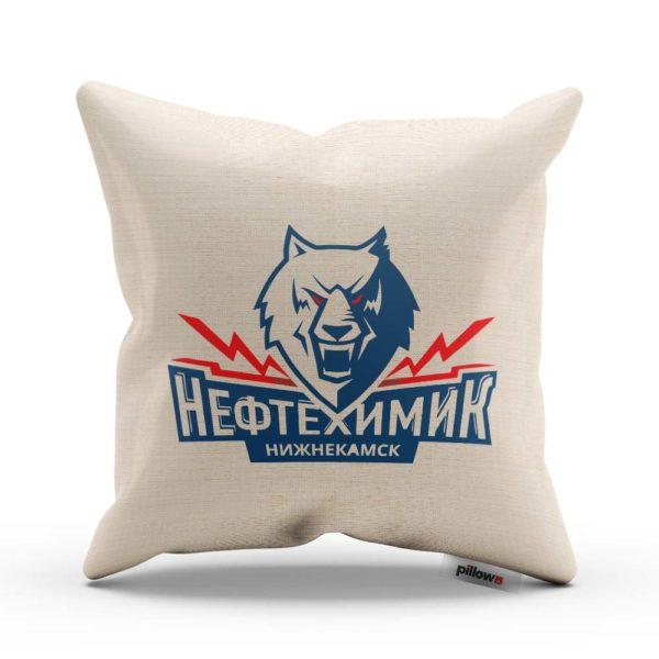 Vankúš hokejového klubu Neftechimik Nižnekamsk z KHL