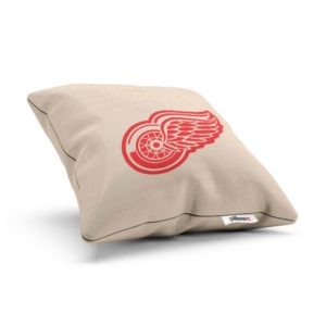 Vankúšik hokejového klubu Detroit Red Wings z NHL