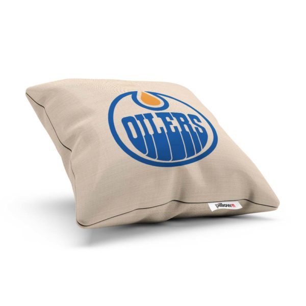 Vankúšik hokejového klubu Edmonton Oilers z NHL