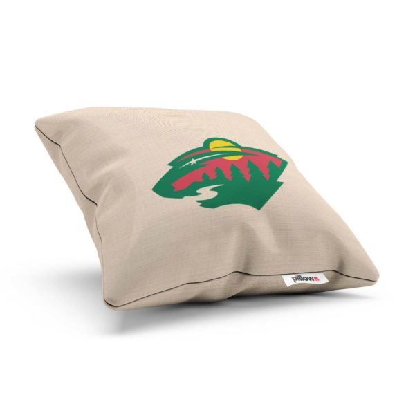 Vankúšik hokejového klubu Minnesota Wild z NHL