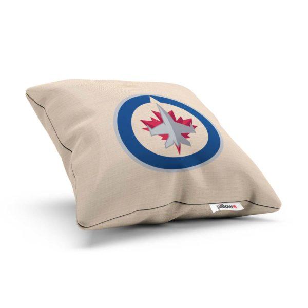 Vankúšik hokejového klubu Winnipeg Jets z NHL