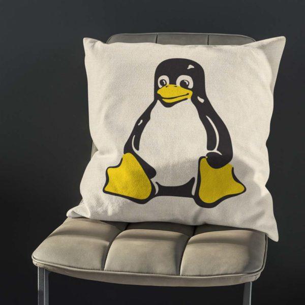 Kvalitný vankúš Linux pre ozajstného fanúšikov nezávislosti a technológií