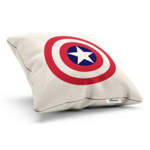 Vankúšik Captain America ušitý z kvalitného plátna