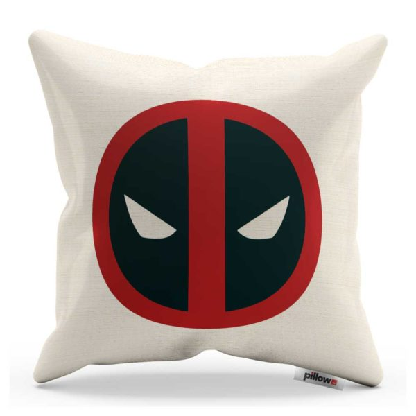 Deadpool vankúšik kde aj antihrdina je hrdina.
