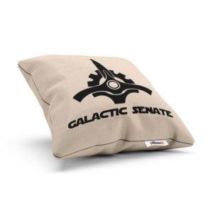 Vankúšik so symbolom Galactic Senate z filmu Hviezdne Vojny