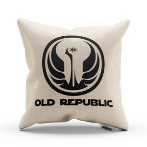 Vankúš s odznakom galaktického impéria Old Republic