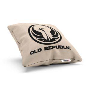 Vankúšik s erbom galaktického impéria Old Republic