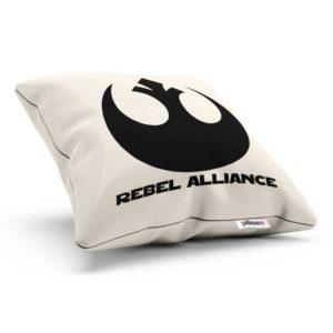 Vankúšik s emblémom Rebel Alliance z Hviezdnych Vojen
