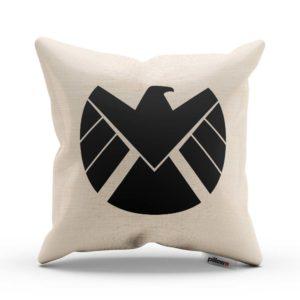 Ľanová obliečka a vankúš so symbolom S.H.I.E.L.D.