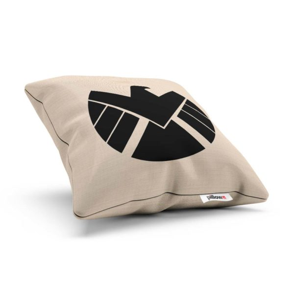 Ľanová obliečka a vankúšik s logom S.H.I.E.L.D.