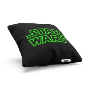 Čierny vankúšik Star Wars s DTG tlačenou obliečkou