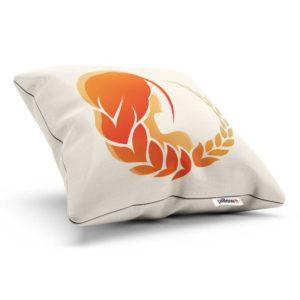 Bavlnený vankúš so znamením horoskopu panna precízne vyrobený z kvalitných materiálov